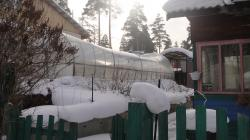 Теплица не выдержала нагрузки от снега